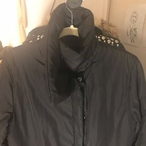 Calvin Klein Maxi Puffer Coat with Liner